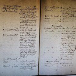 дворяне Деревской пятины 1724 года