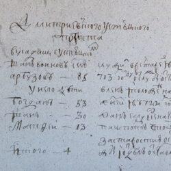 Список дворян Бежецкой пятины 1724 года